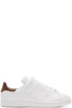 Y's - Baskets blanches Diagonal Stan Smith édition adidas Originals