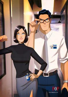 Superman and Lois Lane Clark Superman, Superman Love, Superman And Lois Lane, Superman Family, Superman Stuff, Batman Christian Bale, Clark Kent Lois Lane, Geeks, Dc Couples