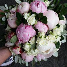 #brudebukett #peoner #sommer#madebyme