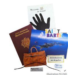 Janvier 2012: La valise de Christophe Marchesseau  http://www.plumevoyage.fr/magazine/voyage/luxe/6-la-valise-de-christophe-marchesseau/