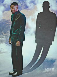 The very stylish Frank Ocean