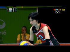宮下遥 Haruka Miyashita Highlight in 2016 Rio Olympic Women's volleyball