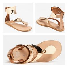 b8bc702e0382 Nude Congo Gold Plated Sandal  jeffreycampbell  jeffrey  campbell  shoes   hot  gorgeous  fashion  trend  style