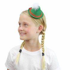 Oktoberfest Mini Green Felt Hat