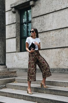 #OOTD: The Right Way to Rock Culottes for Fall