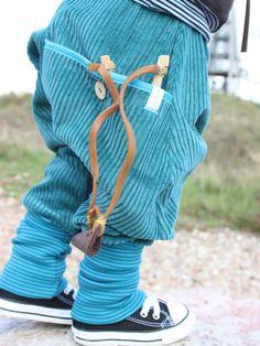 Pumphosen - ♥ Schmuckstück - Breitcord Pumphose ♥ - ein Designerstück von von-dschennie bei DaWanda