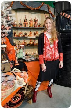 Johanna Parker Halloween | Johanna-Parker-Halloween-Folk-Artist | Flickr - Photo Sharing!
