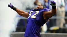 "Ray Lewis,   For ""RAVEN"" fans everywhere,  Thank You for good football."