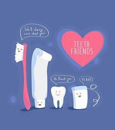 BFFs #teeth