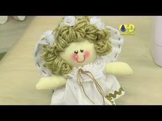 Vida com Arte | Boneca Anjinho por Solange Adam - 02 de Outubro de 2014