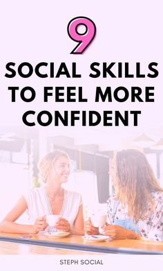 Good social skills can help you feel more confident, make friends and can help you become successful! How to be confident. How to be successful. Self improvement tips. Personal development. How to stop being shy. Life hacks and life tips. How to improve yourself. How to change your life. How to talk to people. How to make friends. How to be happy. Boost your confidence. #confidence #personaldevelopment #selfimprovement #lifehacks #success Get Rid Of Anxiety, How To Cure Anxiety, Deal With Anxiety, Anxiety Tips, Anxiety Activities, Mindfulness Activities, Self Development, Personal Development, Dealing With Difficult People