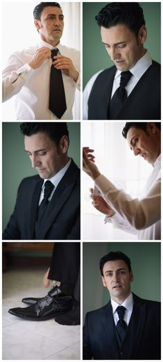 the #groom getting ready