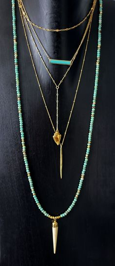 turquoise & gold layers                                                                                                                                                      More