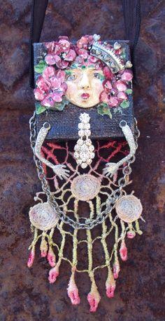 Wonderful textile jewelry