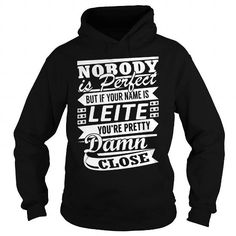 Awesome Tee LEITE Pretty - Last Name, Surname T-Shirt T shirts
