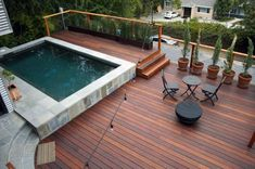 Top 60 Best Backyard Deck Ideas - Wood And Composite Decking Designs - Shadab DIY Small Backyard Decks, Modern Backyard, Small Backyards, Patio Deck Designs, Modern Deck, Deck Builders, Pergola Shade, Pergola Roof, Diy Pergola