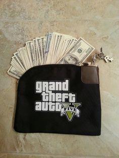 Grand Theft Auto Five Money Bag (Rockstar Games)