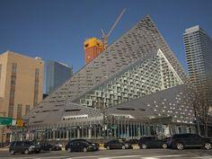 Bjarke Ingelss Tetrahedron Will Get a Landmark Movie Theater At Its Base