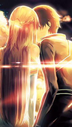 SAO/ Kirito & Asuna <3