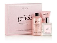 Amazing Grace gift set- love it...lasts a long time, too.