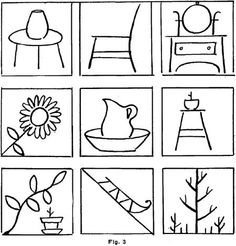 Learn How to Draw the Outlines of Objects and by Drawing Flat Objects & Lines with Following Lessons for Kids & Other Beginners