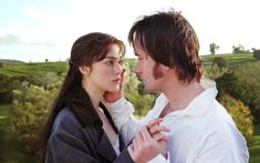 """You have bewitched me, body and soul. And I love, I love, I love you."" -Pride and Prejudice"
