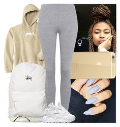 """""""Untitled #593"""" by msixo ❤ liked on Polyvore featuring Stussy, Topshop, NIKE and David Yurman"""