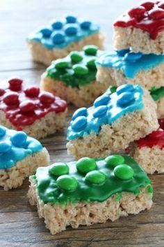 Barritas de arroz y fichas de lego: recetas para meriendas infantiles | Fiestas y Cumples