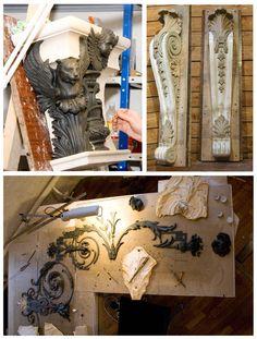 Лепной декор. Техники изготовления. Профильные элементы, реставрация, изготовление лепнины