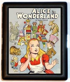 Hey, I found this really awesome Etsy listing at https://www.etsy.com/listing/36421203/alice-in-wonderland-comic-style