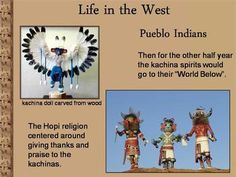 Life in the West is a colorful 15 slide Power Point describing the customs and environment of the Makah, Great Basin, Pueblo, Navajo and Apache Indians. This beautiful presentation is a concise, well organized introduction to Native Americans for the younger student or a comprehensive review for a Native American unit.  This is a student tested lesson used by a middle school teacher.