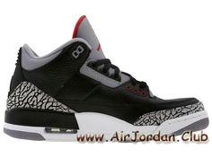 Air Jordan 3 Retro GS Black Cement 398614-010 Femme/Enfant Air Jordan Prix  noires - 1704140116 - Bienvenue Parcourez le site pour découvrir les Jordan  ...