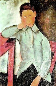 boy by Amedeo Modigliani
