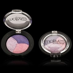 "Motives Mineral Baked Eye Shadow Trio | Since the product is ""baked"" it means that the colors won't crack or blend together"