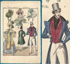 www.etsy.com/listing/253388048/regency-antique-fashion-print-1831
