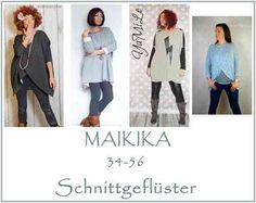 Maikika 32-56 Oversize Pullover