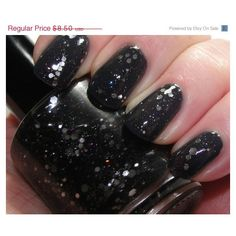 Drop.Your.Sword - hand made nail polish by Northern Star Polish (€6,21) found on Polyvore