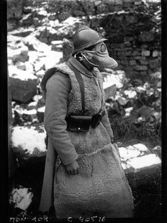 French gas mask