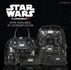 Star Wars Darth Vader Darkside Black Patent Collection available at loungefly.com