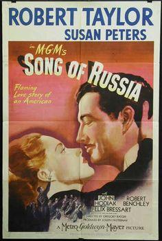 Song of Russia (1944) Robert Taylor, Susan Peters