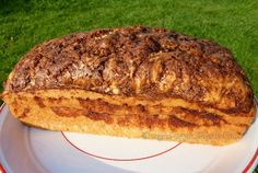 Cinnamon Swirl Loaf - it's unbelievable how moist this cake is. And that aroma...wow!!!