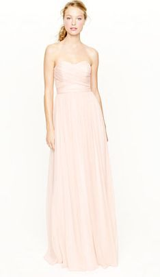 Save 20% on all J. Crew bridesmaid dresses now through March 3rd! Enter code LOVE at checkout (not sure if that's still true but if it is...:))