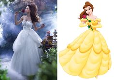Beautifully romantic and vintage-inspired, we reckon Belle would love her updated wedding dress. - Cosmopolitan.co.uk