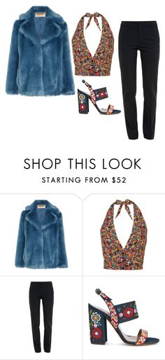 """""""Untitled #711"""" by ariannastradlin ❤ liked on Polyvore featuring MICHAEL Michael Kors, Chloé and Tabitha Simmons"""