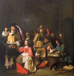 Company of Soldiers by Simon Kick c.1640s
