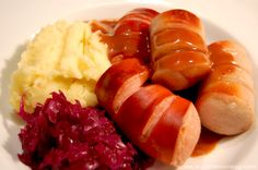 Norwegian Christmas Sausage! Another thing I miss from home, I have a recipe to make them from scratch and will have to try it some day!