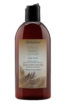 Sunless Tanning - Dark Tones - Just Nutritive