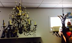 Light it up!  We always have some cool light fixtures for your remodel!