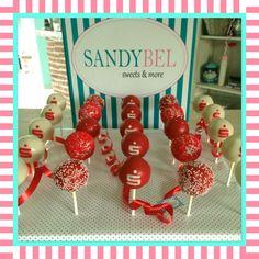 Cake Pops mit Sparkassen Logo by #sandybel #cakepops #nürnberg #fürth #sparkasse #sweet