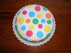 tortas decoradas a lunares (5)